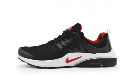 Air Presto КРОССОВКИ МУЖСКИЕ<br/> NIKE AIR PRESTO BLACK RED WHITE