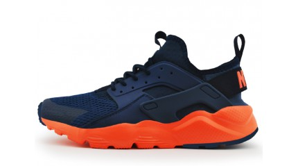 Huarache КРОССОВКИ МУЖСКИЕ<br/> NIKE AIR HUARACHE ULTRA NAVY BRIGHT CRIMSON