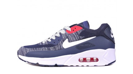 Nike Air Max 90 Ultra 2.0 Flyknit Blue White