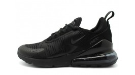 Nike Air Max 270 Triple Black черные