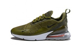 Nike Air Max 270 Olive Medium Green зеленые