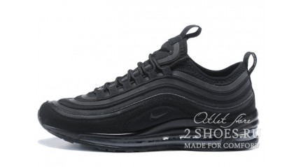 Air Max 97 КРОССОВКИ МУЖСКИЕ<br/> NIKE AIR MAX 97 ULTRA 17 SE TRIPLE BLACK