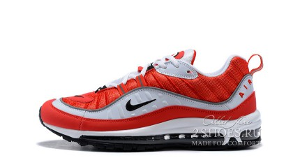Air Max 97 КРОССОВКИ МУЖСКИЕ<br/> NIKE AIR MAX 98 GUNDAM RED WHITE