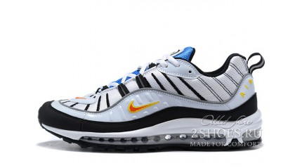 Air Max 97 КРОССОВКИ МУЖСКИЕ<br/> NIKE AIR MAX 98 GUNDAM WHITE BLACK