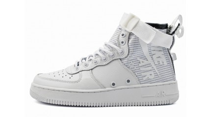 Air Force КРОССОВКИ МУЖСКИЕ<br/> NIKE AIR FORCE SF 1 MID WHITE IVORY TRIPLE