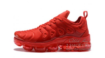Кроссовки Мужские Nike VaporMax Plus University Red