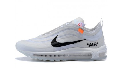Air Max 97 КРОССОВКИ МУЖСКИЕ<br/> NIKE AIR MAX 97 OFF WHITE CONE ICE WHITE