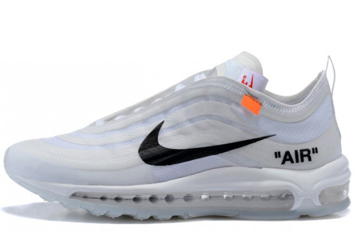 Кроссовки Nike Air Max 97 Off White Cone Ice White