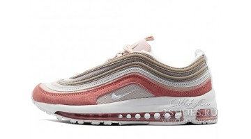 Кроссовки женские Nike Air Max 97 Particle Beige Rush Pink