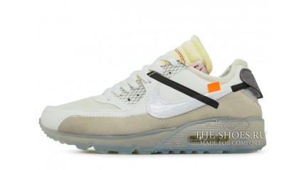 Air Max 90 КРОССОВКИ МУЖСКИЕ<br/> NIKE AIR MAX 90 OFF WHITE X ICE