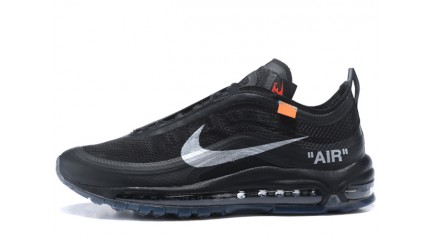 Air Max 97 КРОССОВКИ МУЖСКИЕ<br/> NIKE AIR MAX 97 OFF WHITE BLACK NOIR