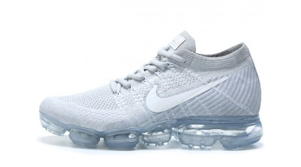 Nike Air VaporMax Flyknit Pure White Platinum