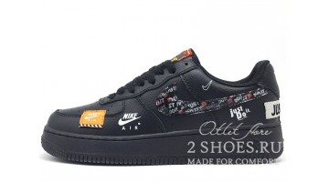 Кроссовки Мужские Nike Air Force Low Just Do It Black