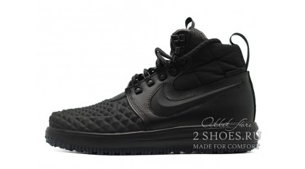 Nike Lunar Force 1 DUCKBOOT 17 Black Anthracite