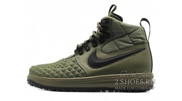 Кроссовки Мужские Nike Lunar Force 1 DUCKBOOT 17 Olive Green