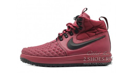 Nike Lunar Force 1 DUCKBOOT 17 Bordeaux Black