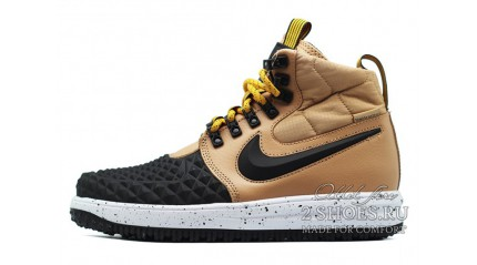 Nike Lunar Force 1 DUCKBOOT 17 Black Light Bone