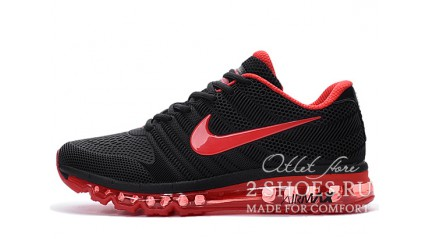 Air Max 2017 КРОССОВКИ МУЖСКИЕ<br/> NIKE AIR MAX 2017 KPU BLACK RED