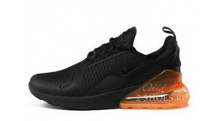Air Max 270 КРОССОВКИ МУЖСКИЕ<br/> NIKE AIR MAX 270 BLACK TOTAL ORANGE