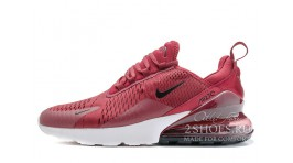 Nike Air Max 270 Burgundy Red бордовые