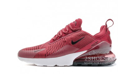 Air Max 270 КРОССОВКИ МУЖСКИЕ<br/> NIKE AIR MAX 270 BURGUNDY RED