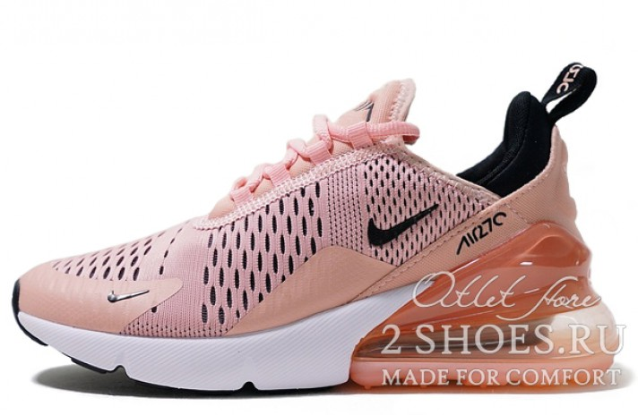 Nike Air Max 270 Coral Pink Stardust розовые