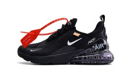 Nike Air Max 270 Off White Black черные
