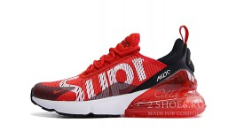 Nike Air Max 270 Supreme Red красные