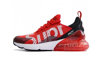 Кроссовки женские Nike Air Max 270 Supreme Red