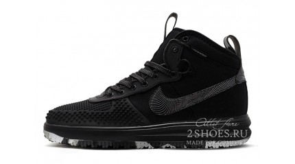 Nike Lunar Force 1 DUCKBOOT Black Chameleon