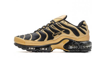Air Max TN Plus КРОССОВКИ МУЖСКИЕ<br/> NIKE AIR MAX TN PLUS GOLD BLACK