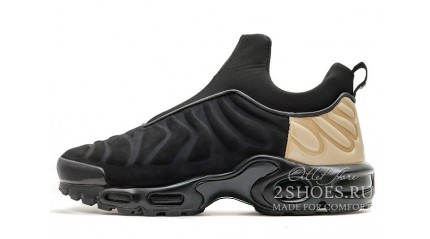 Air Max TN Plus КРОССОВКИ МУЖСКИЕ<br/> NIKE AIR MAX TN PLUS SLIP BLACK METALLIC GOLD