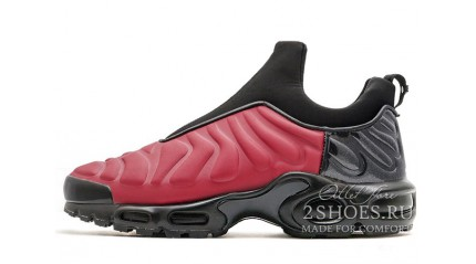 Air Max TN Plus КРОССОВКИ МУЖСКИЕ<br/> NIKE AIR MAX TN PLUS SLIP RED METALLIC BLACK