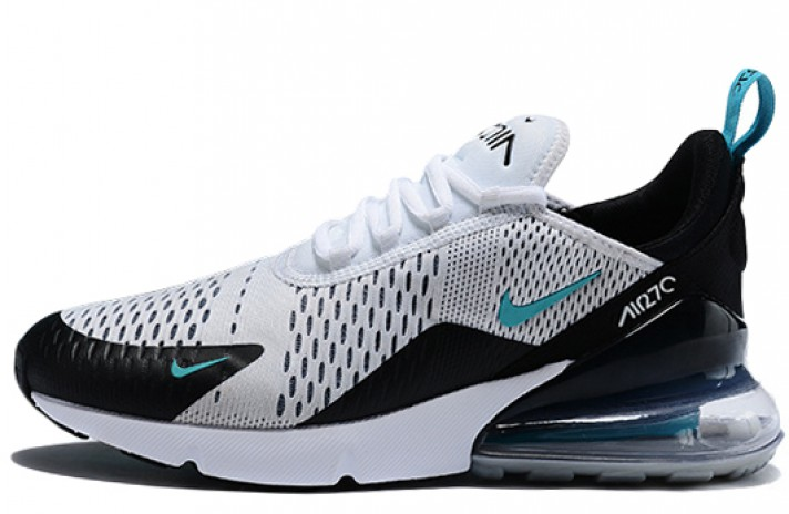 Купить Nike Air Max 270 Teal White Dusty Cactus - белые ad0aa894397