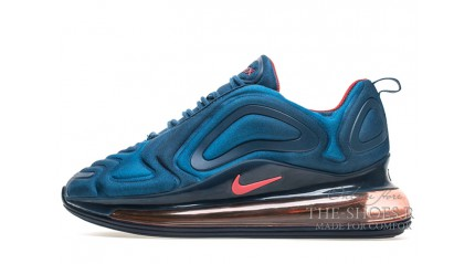 Nike Air Max 720 Blue Red
