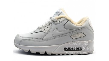 Кроссовки мужские Nike Air Max 90 Winter White Leather