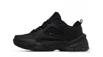 Кроссовки мужские Nike M2K Tekno winter Triple Black