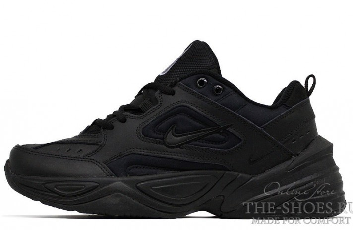 Кроссовки Nike M2K Tekno Triple Black