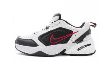 Кроссовки женские Nike Air Monarch 4 (IV) White Black Red