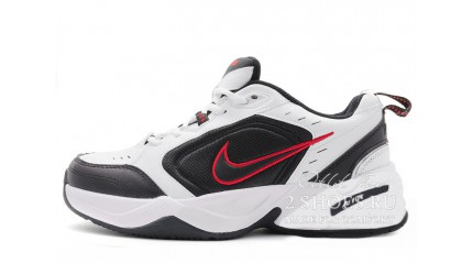 Nike Air Monarch 4 (IV) White Black Red