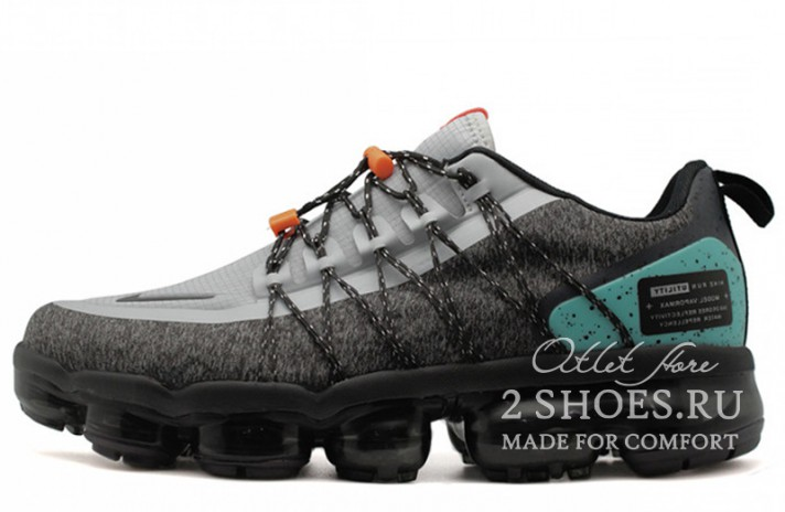 Nike Air VaporMax Utility Run NRG Gray Tropical Twist серые, фото 1