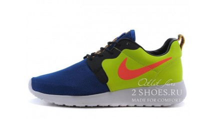 Nike Roshe Run Hyperfuse (HYP) Game Royal Hyper Punch Volt Ivory