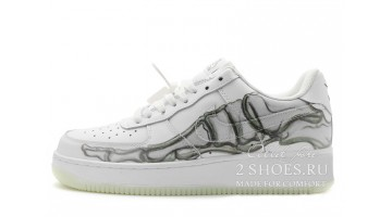 Кроссовки Мужские Nike Air Force 1 Low Skeleton White