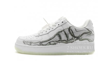 Nike Air Force 1 Low Skeleton Halloween White