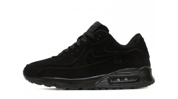 Кроссовки мужские Nike Air Max 90 VT Winter Black Full