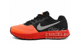 Nike Pegasus 30 Atomic Orange Black оранжевые черные