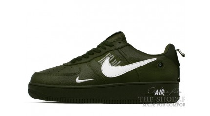 Nike Air Force 1 Low LV8 Utility Olive Canvas White