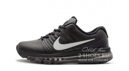 Nike Air Max 2017 Black Gray Leather
