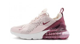 Nike Air Max 270 Barely Rose Vintage Wine сиреневые розовые