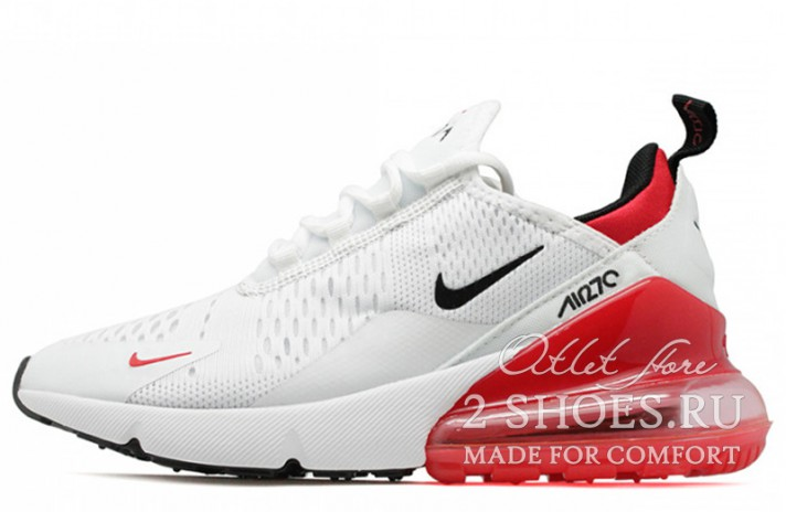 Кроссовки Nike Air Max 270 White Red
